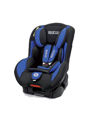 Sparco F500K Child Car Seat, Group 1+, Blue/Black