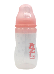 Permanenza Silicone Baby Feeding Bottle, 240ml, Pink