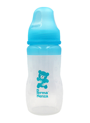 Permanenza Silicone Baby Feeding Bottle, 240ml, Blue