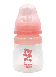 Permanenza Silicone Baby Feeding Bottle, 140ml, Pink