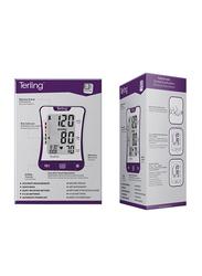 Terling Upper Arm Blood Pressure Monitor, UBP -0903, Purple