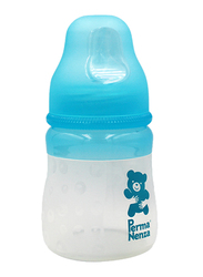 Permanenza Silicone Baby Feeding Bottle, 140ml, Blue