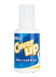 Deli Cover Up Correction Fluid, 20ml, White