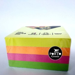 Deli A030 Sticky Notes, 7.6 x 7.6cm, Multicolor