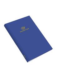 FIS Manuscript Note Book, F/S Size, 4 Quire, Blue