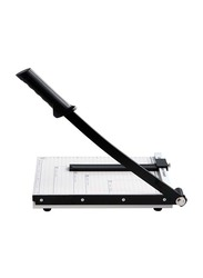 Deli A4-12 Sheets Steel Paper Cutter, 30 x 250cm, 8014, White