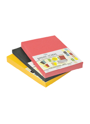 Bristol Card Paper, 100 Sheets, 180 GSM, A4 Size, Pink