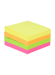 Deli A033 Sticky Notes, 5.1 x 5.1cm, Multicolor