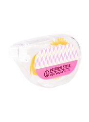 Deli E7204 Correction Tape Smooth, 5mm x 8m, Pink