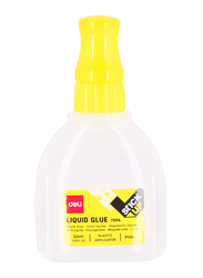 Deli Liquid Glue, 50ml, 7304, White