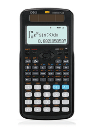 Deli Scientific Calculator, D991ES, Black