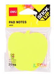 Deli A032 Fancy Shapes Sticky Notes, 7.6 x 7.6cm, Multicolor