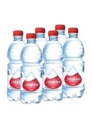 Monviso Natural Mineral Sparkling Water, 6 Bottles x 500ml