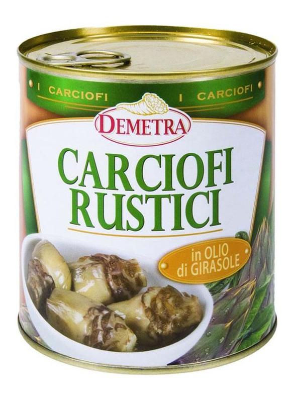 Demetra Rustic Artichokes In Sunflower Oil, 770g