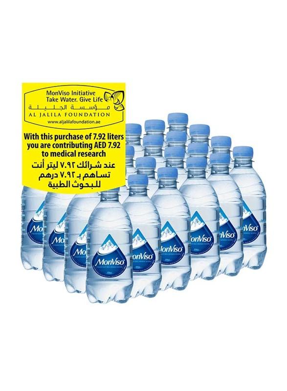Monviso Natural Mineral Still Water, 24 Bottles x 330ml