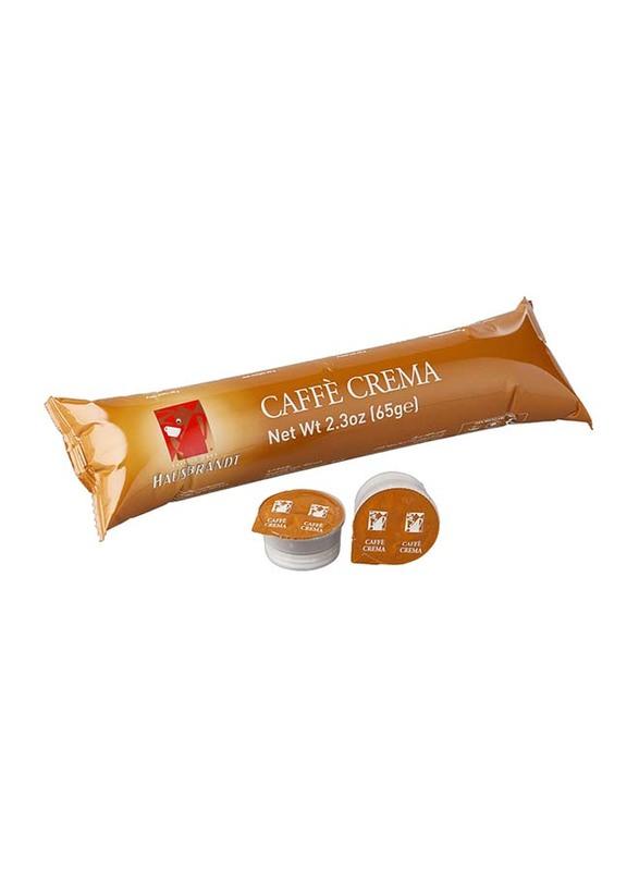 Hausbrandt Caffe Crema Coffee Blister, 65g, 10 Capsules