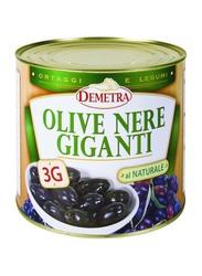 Demetra Giant Black Olives, 2.5 Kg