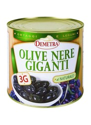 Demetra Giant Black Olives, 2.5 Kg