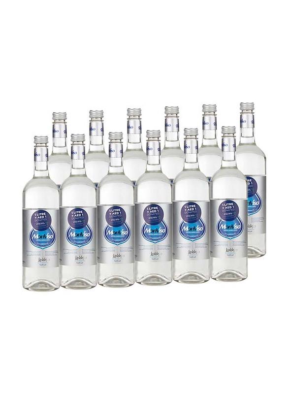 Monviso Natural Mineral Still Water, 12 Bottles x 750ml