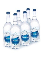 Monviso Natural Mineral Still Water, 6 Bottles x 1 Liter