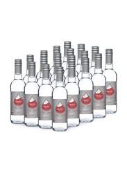 Monviso Natural Mineral Sparkling Water, 20 Glass Bottles x 375ml