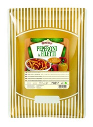Demetra Sliced Pepper In Sunflower Oil, 1.7 Kg