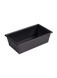 Winco 8.5 x 4.5-inch Non Stick Steel Heavy Duty Rectangle Loaf Pan, Black