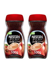 Nescafe Red Mug Coffee, 2 Jar x 100g