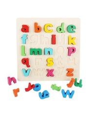 Wooden Alphabet Puzzle Board
