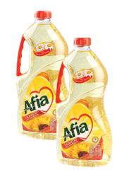 Afia Sunflower Oil, 2 x 1.8 Liter