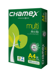 Chamex A4 Printing Paper, 5 x 500 Sheets, White