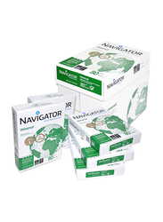 Navigator Photocopy Paper Ream, 210 x 297mm, 5 x 100 Sheets, 80 GSM, A4 Size, White