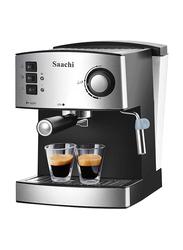 Saachi All In One Coffee Maker, 850W, NL-COF-7055, Black/Silver