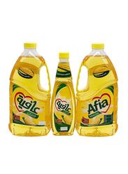 Afia Corn Oil, 2 x 1.8 Liter + 750ml