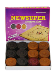 Carrom Board Coins Set with Striker