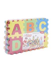 36-Piece Foam Puzzle Mat, Multicolor