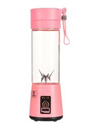 Sharpdo Mini Smoothie Maker Machine, 180W, T-Bottle-1021, Pink