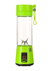 Sharpdo Mini Smoothie Maker Machine, 180W, T-Bottle-1021, Green