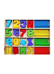 Wooden Original Computation Study Box for Basic Math Calculations, Ages 3+