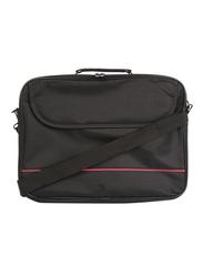 15.6-Inch Laptop Shoulder Bag, Black