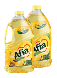 Afia Corn Oil, 2 Cans x 1.82 Liter