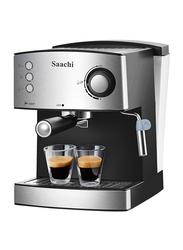 Saachi 1.6L All-in-One Coffee Maker, 850W, NL-COF-7056, Black/Silver