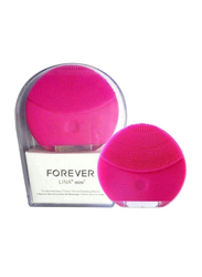 Forever Lina Mini Facial Cleansing Brush, Pink