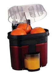 Avilion 1L Plastic Electric Citrus Juicer, Red/Black