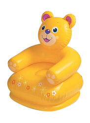 Intex Assorted Happy Animal Kids Chair, Yellow