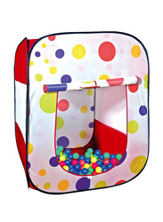 Ching Ching Wonderful Square Shape House with 100 Pieces 6cm Ball Set (Dia: 6cm)