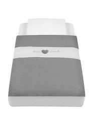 Cam Baby Bedding Kit for Cullami Cradle, Ash Grey