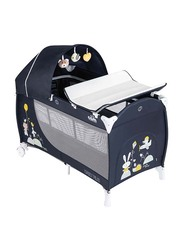 Cam Daily Plus Baby Travel Bed, Navy Blue