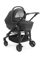 Cam Combi Tris Modular System Baby Stroller, Black