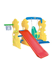 Giraffe Slide and Swing with Basketball Set, Ages 3+
